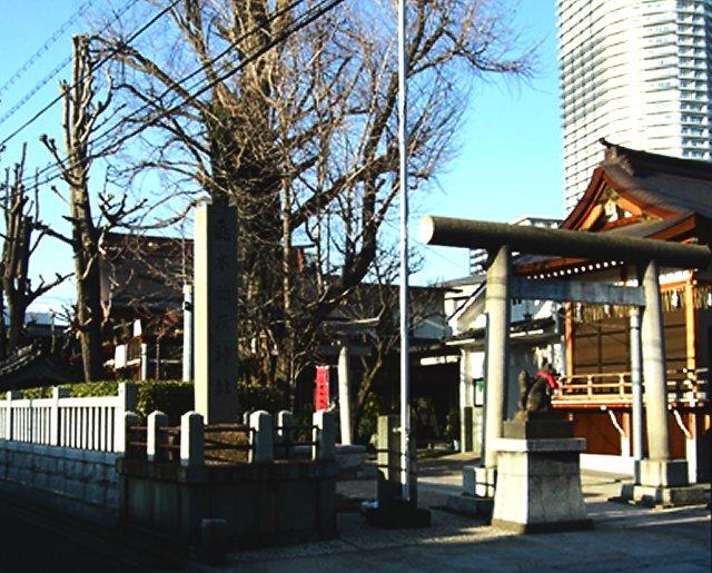 飛木稲荷神社''